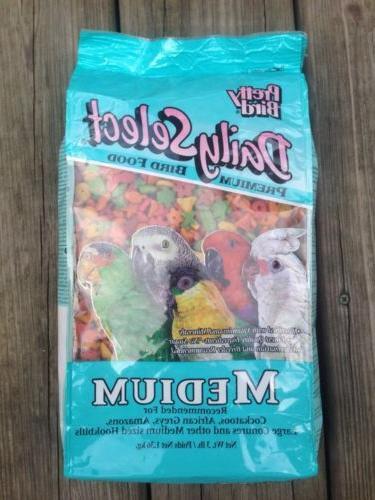 PRETTY BIRD PELLETS select medium, african, amazon