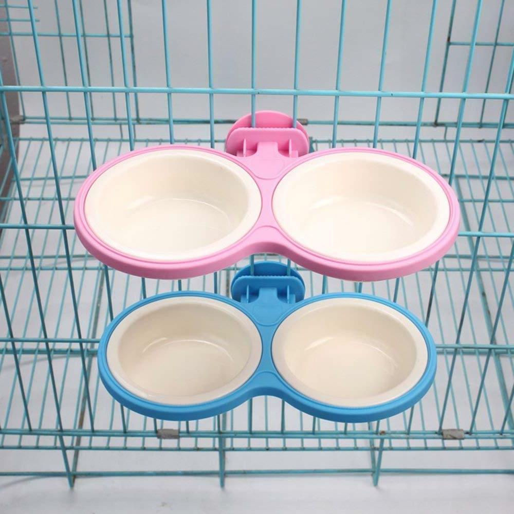 pet durable bowl cage dual removable bolt