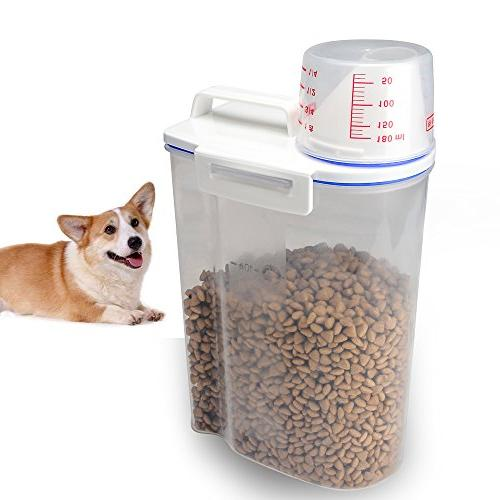 pet food plastic storage container