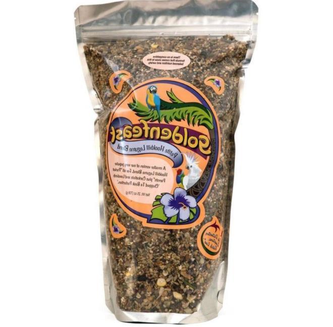 1 lb 9oz Goldenfeast Petite Hookbill Legume Sm Bird Food 25o
