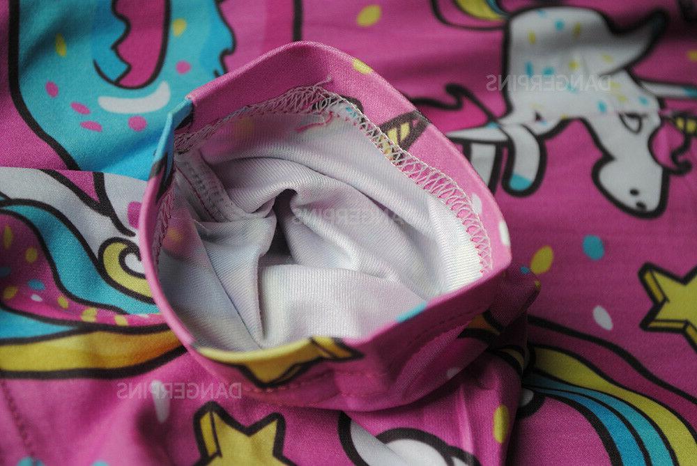 Pink Donut leggings - size cute yoga kawaii food