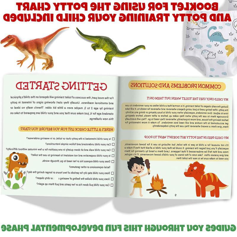 Potty Toddlers Dinosaur Design Sticker Reward