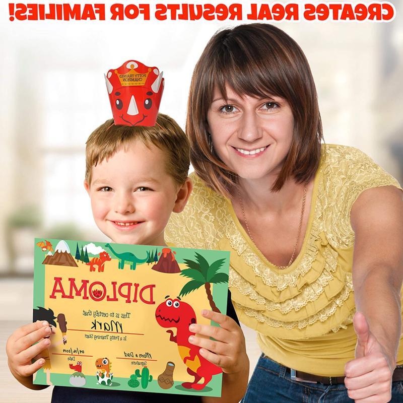 Potty Toddlers Design Sticker Reward