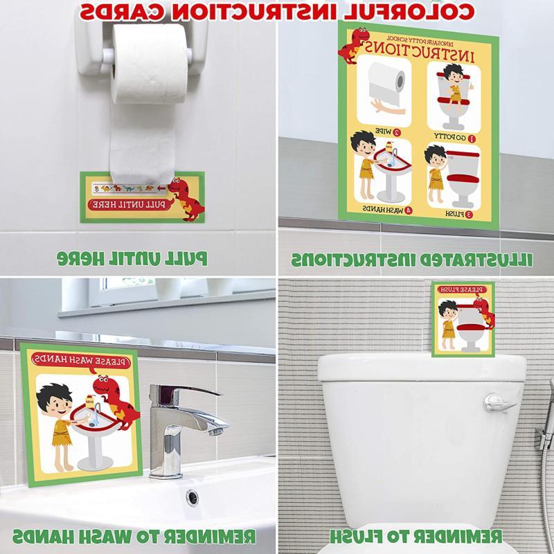 Potty Training for Toddlers Design Sticker - Reward