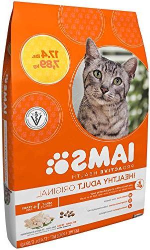 Iams Proactive Health Adult Original Chicken Dry Cat 17.4