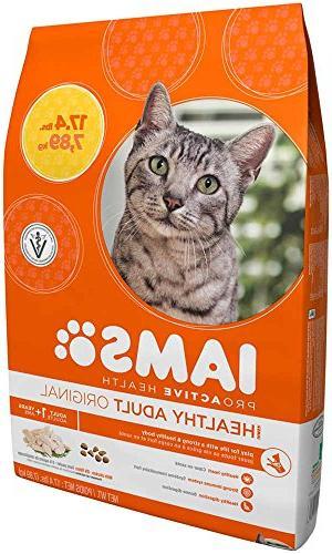 Iams Health Original Chicken Cat Food Pounds