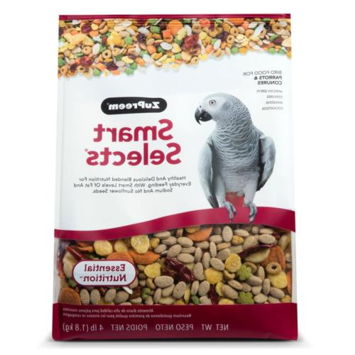 ZuPreem Smart Selects� Daily Bird Food For Parrots & Conur
