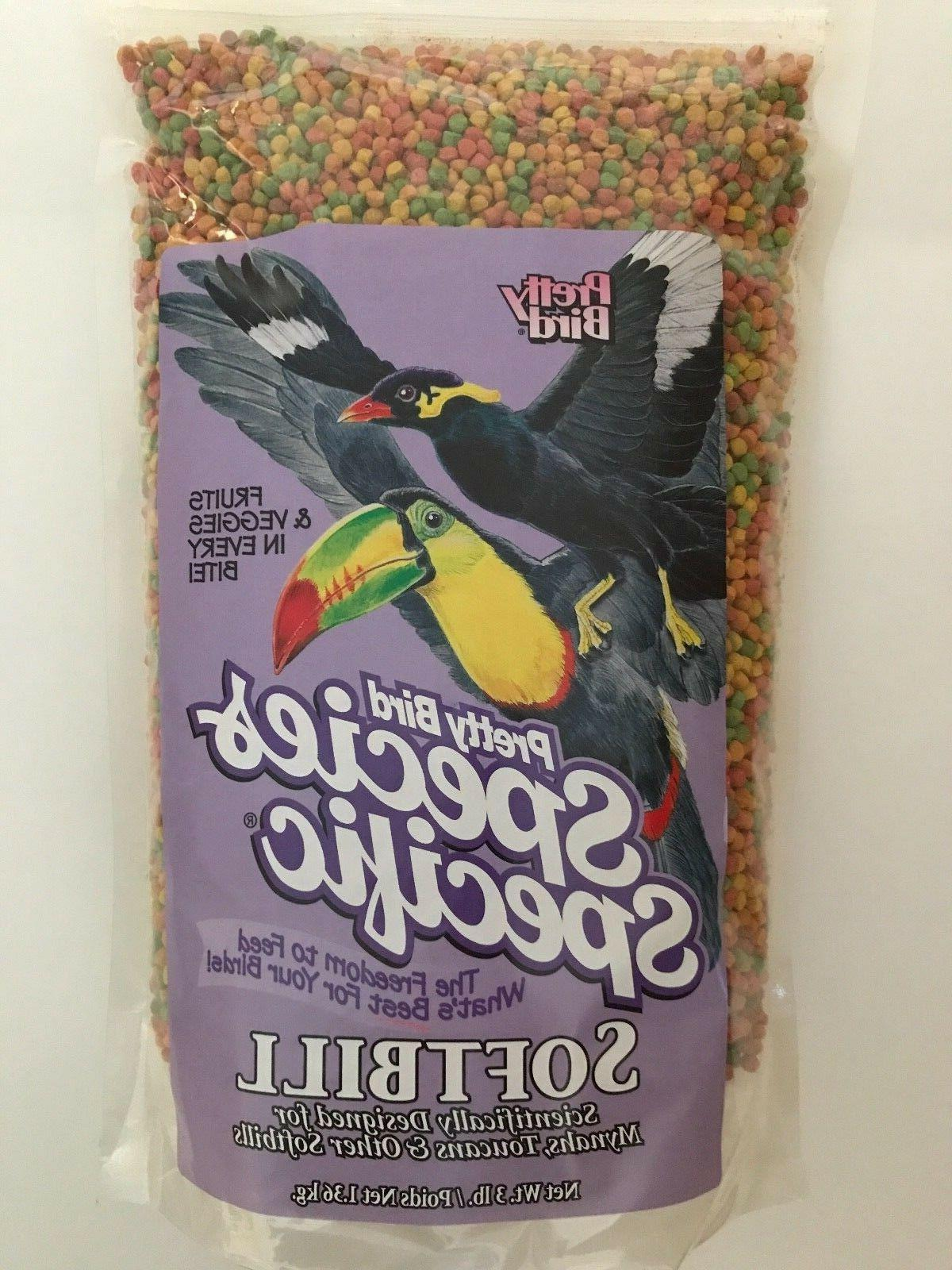 softbill food mynah and toucan 3 lb