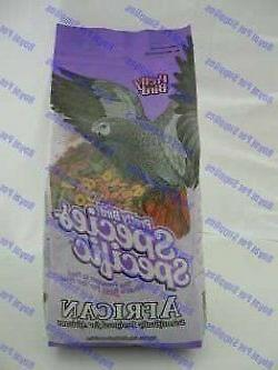 Pretty Bird Species Specific African Bird Food with Extra Ca