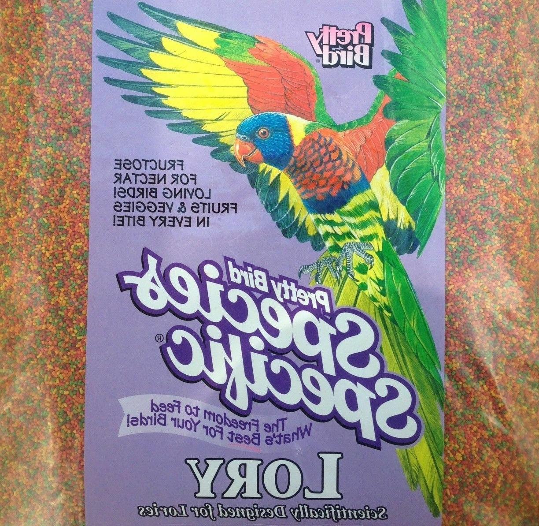 Pretty Bird Species Specific Lory Bird Food