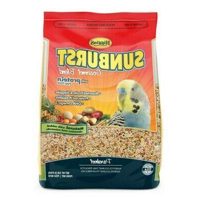 sunburst gourmet food mix parakeet