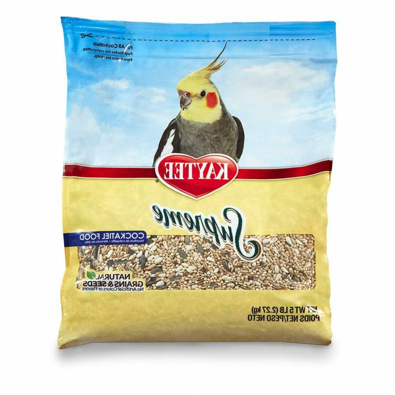 supreme bird food for cockatiels natural seeds