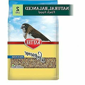 supreme bird food for finches natural grains