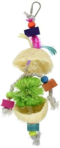 Prevue Pet Products Tropical Teasers Fireball Bird Toy, Mult