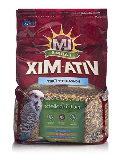 vitamix parakeet diet food