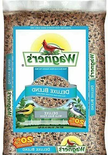 Wagner's 13008 Deluxe Wild Bird Food 10-Pound Bag,Highest