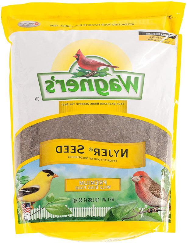 Wagner'S 62050 Nyjer Seed Wild Bird Food, 10-Pound Bag