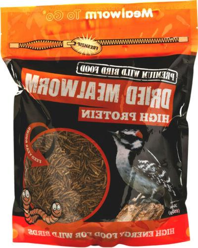 wb305 mealworm go dried