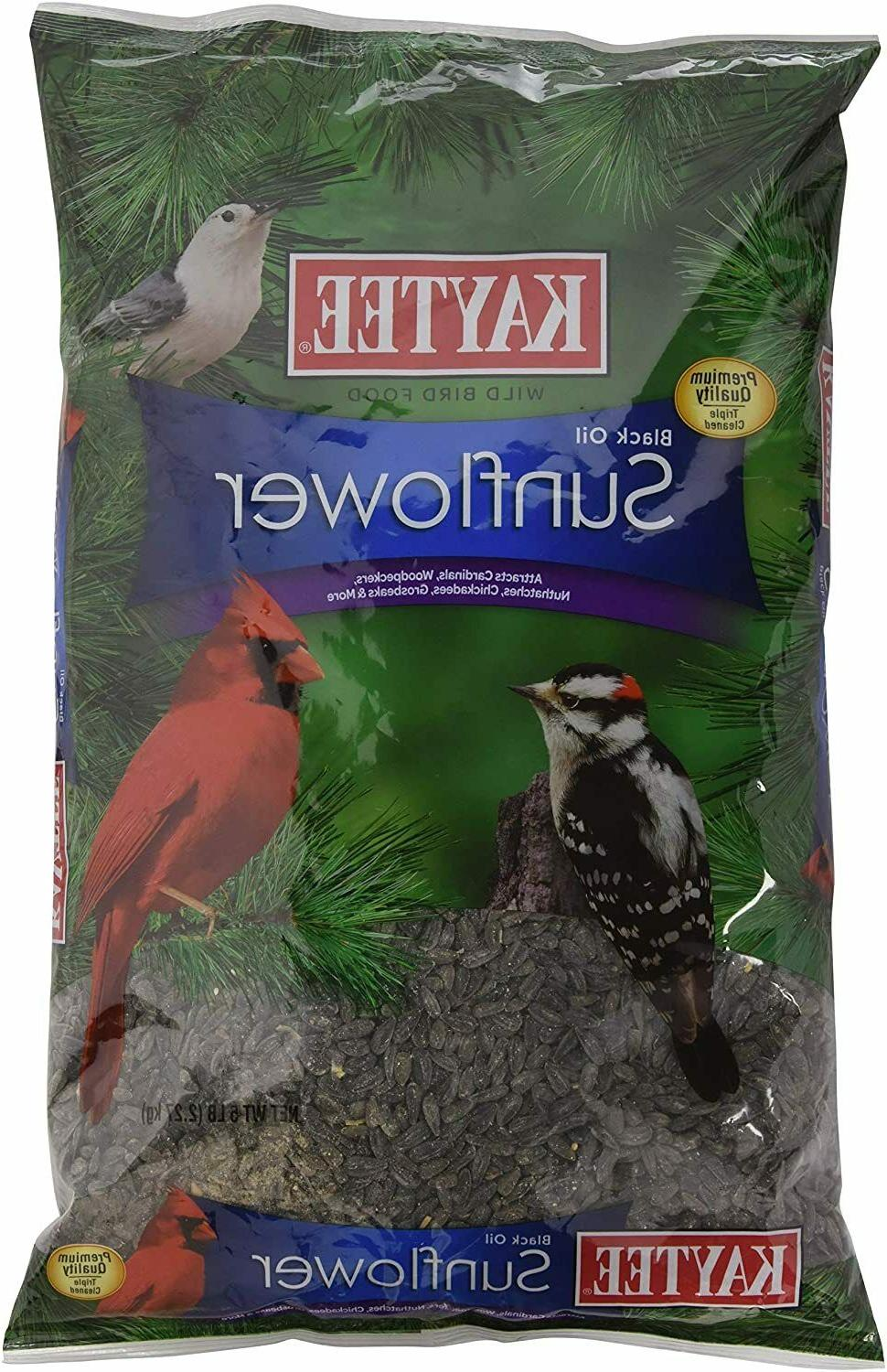 Kaytee Wild Bird Food Black Oil Sunflower Sunflower Bird See