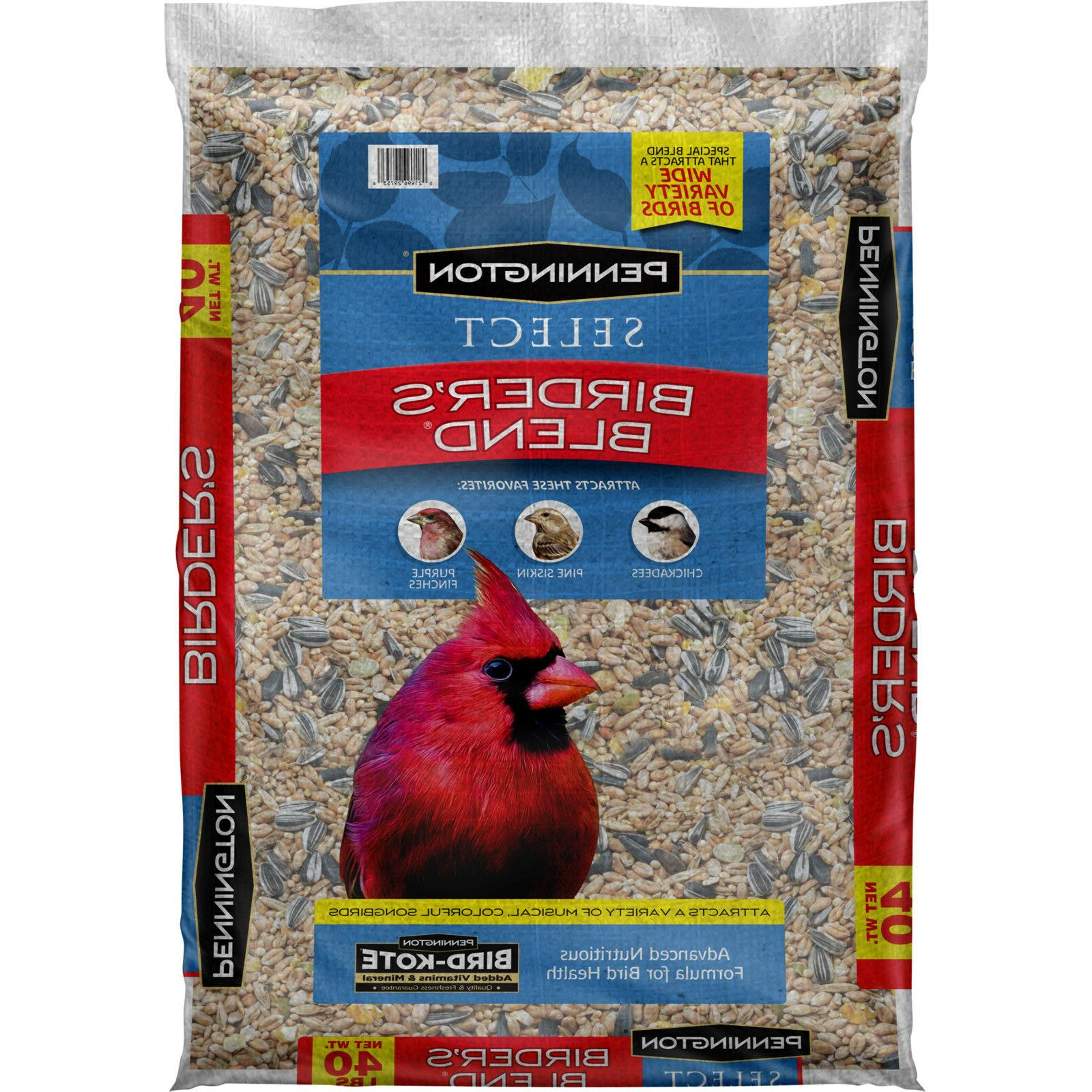 Wild Bird Food Mix Bulk 40lb Bag Select NEW