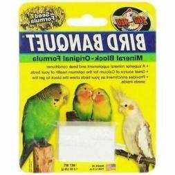 Zoo Med Laboratories Bird Banquet Original Mineral Block Sma
