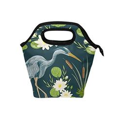 Lunch Bag Tote Handbag Neoprene Lunchbox Food Container Hero