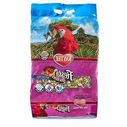 Macaw Food Pet Bird Brain Heart Health Support Fruits Nuts V