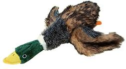 Patchwork Pet Mallard Duck 15-Inch Squeak Toy for Dogs