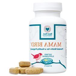 Mama Bird Prenatal Multivitamin | L-Methylfolate , Methylcob