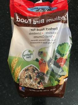 High Country Blends Medium Bird Food 24 oz Bag New! Love Bir