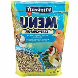 Vitakraft Menu Vitamin Fortified Canary & Finch Food, 2.5 Lb