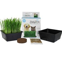Handy Pantry Organic Cat Grass Kit | Includes 1 Tray, 1 Soil