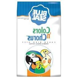 Blue Seal Colors n' Chorus Cockatiel Diet Bird Food 50 Lbs.