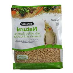 ZuPreem Natural Bird Food For Medium Birds Added Vitamins An
