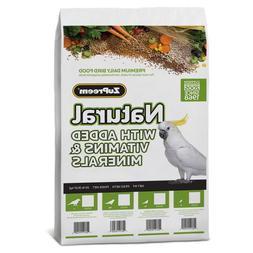 ZuPreem Natural Medium Bird Food 20-Lb Bag Free Shipping