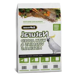 ZuPreem Natural Small Bird Food 20-Lb Bag Parakeets Budgies