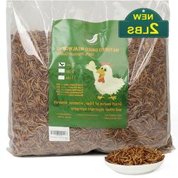 Non-GMO Dried Mealworms Fit for Birds Chickens Hamster Fish