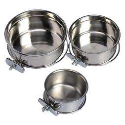 omni pet stainless steel coop cup food