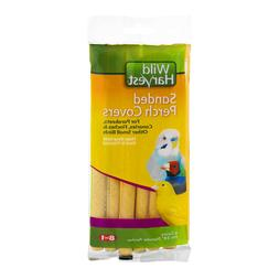 Wild Harvest P-84141 Sanded Perch Covers for Small Birds, 6-