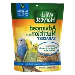 Wild Harvest Parakeet Bird Food Advanced Nutrition Diet  2LB