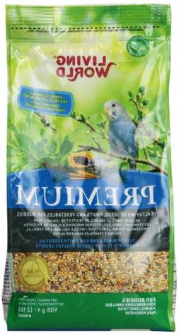 Living World Premium Parakeet/Budgie Mix, 2 Pounds