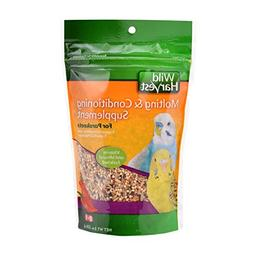 8in1 Parakeet Moulting Food Canister, 8-Ounce Multi-Colored
