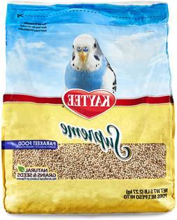 Parakeets Bird Food No Artificial Colors Seeds Excellent Hig