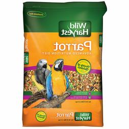 Wild Harvest Parrot Advanced Nutrition Diet Dry Bird Food, 8
