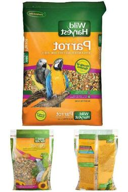 Parrot Food Bird Advanced Nutrition Diet Dry Bird Food, 8 lb