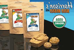 Parrot Food Harrisons Organic Birdie Bread Mix