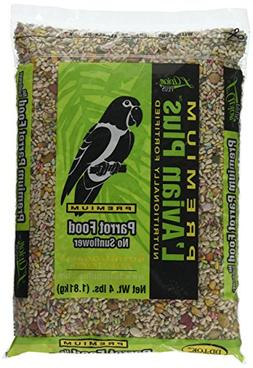 L'Avian Plus Parrot Food No Sunflower Seed 4 Lb