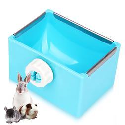 Pet <font><b>Feeding</b></font> Bowl Rectangle Plastic Fix C