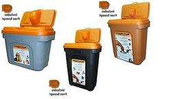 Pet Food Container Dog Cat Animal Bird Dry Feed Seed Storage