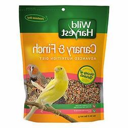NEW Wild Harvest Super Premium Bird Food Canary & Finch 2 lb